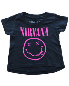 Nirvana Baby T-Shirt Smiley Pink