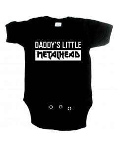 Metal babygrow daddys little metal head