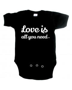Cute babygrow love is all you need