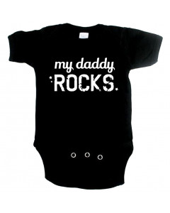 Cool babygrow my daddy rocks