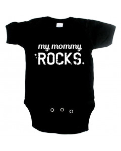 Cool babygrow my mommy rocks