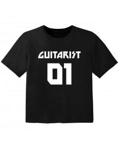 rock baby t-shirt guitarist 01