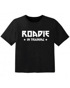 cool baby t-shirt roadie in training