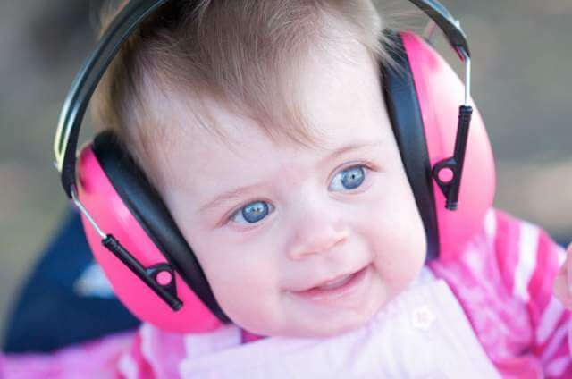Hearing protection for children at concerts
