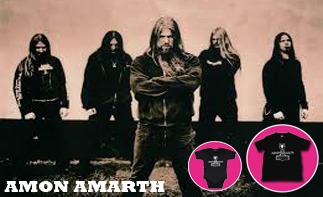 Amon Amarth Baby and Kids Clothes
