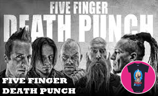 Five Finger Death Punch Baby & Kids clothes