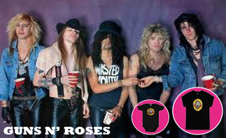 Guns 'n Roses Baby and Kids Clothes