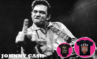 Johnny Cash Baby and Kids Clothes